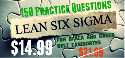 six sigma exam practice questions