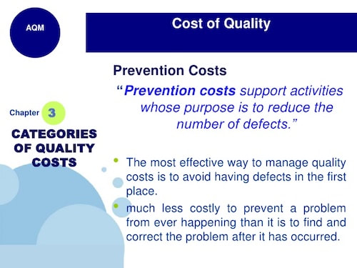 Prevention Costs